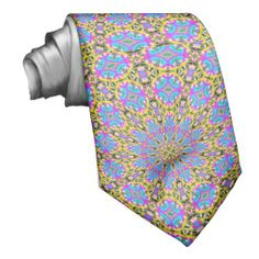 Trendy colorful pattern art neck wear