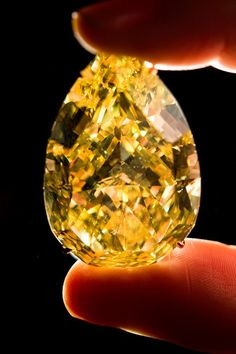 World's Most Expensive Colored Diamonds Yellow Things yellow gem