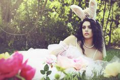 'Bunny Love' by Michelle Fleur Photography on Whim Online Magazine