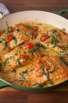 Quick & Easy Family Dinner Ideas - Recipes for Fast Family Meals Salmon Recipes, Fish Recipes, Seafood Recipes, Cooking Recipes, Tuscan Salmon Recipe, Healthy Cooking, Keto Recipes, Healthy Food, Fish Dinner
