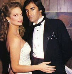 Days of our Lives : The Count and His Contessa - Thaao Penghlis and Leann Hunley Soap Opera Stars, Soap Stars, Miss The Old Days, The Good Old Days, Wedding Movies, Wedding Pics, Tv Show Couples, Life Cast, Days Of Our Lives