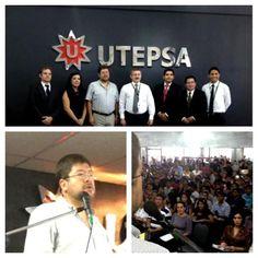 """En Santa Cruz, hablando con más de 300 jóvenes en la UTEPSA, sobre """"La Locura de Ser Emprendedor"""""""