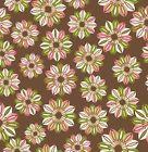 Free Spirit Fabrics: Power Pop - Posies - Coffee #PWJM059.COFFE (Cotton Fabric)