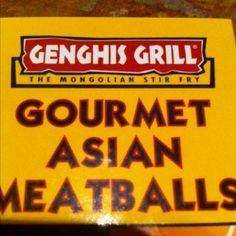 Genghis Grill, less than 30 minutes from PHC, is a Mongolian Stir Fry lover's delight.