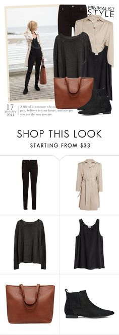 """""""2654. Get The Look"""" by chocolatepumma ❤ liked on Polyvore featuring 7 For All Mankind, Balenciaga, H&M and H by Hudson"""