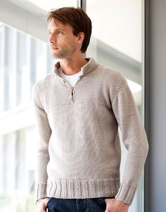 Merino Sport | Book Special Merino Sport 6 Autumn / Winter | 12: Man Sweater | Medium beige