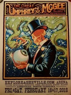 Who else grabbed this killer poster in Asheville this weekend? : Umphreys