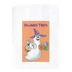 Halloween Ghost Favor Bag