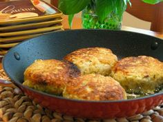Risotto Cakes Recipe  | Carefree Cooking Magazine