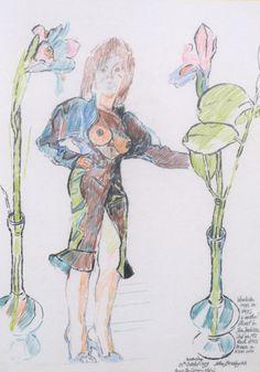 'Patti' - JOHN BRATBY RA (1928-1992). Offered by Kaye Michie at www.edenbridgegalleries.com