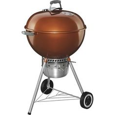 Weber Original Kettle 22 In. Premium Charcoal Grill - 14402001
