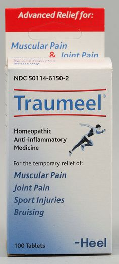 Heel Traumeel® Anti-inflammatory Homeopathic Medicine