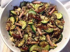 Panelinha de Sabores Paleo, Vegan, Sprouts, Diabetes, Zucchini, Vegetables, Fit, Grilled Veggies, Salads