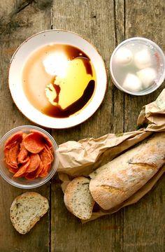 Bread in olive oil