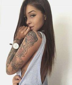 #tattoo #sleeve #women