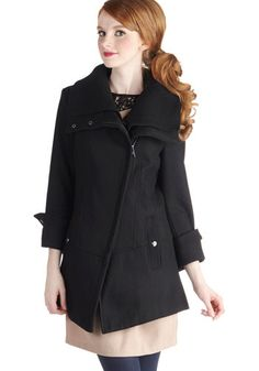 Diagonal Alley Coat by Steve Madden - Black, Solid, Long Sleeve, Casual, Military, Fall, Winter, Exclusives, 3, Long, Top Rated - My kids love this site.  I just bought a coat.  Hope it fits!