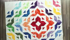 Angela Starts With Three Pre-Cut Squares To Get This Stunning Design!