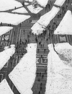 Milan, Piazza Duomo, 1951 by Mario De Biasi