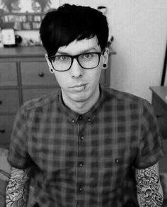 I know phil is like really cute and adorable and his personality isn't really bad boy-ish but he is so
