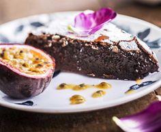 Aito ranskalainen suklaakakku