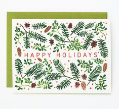 Holiday Foliage   Quill & Fox Shop