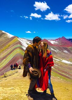 Montaña de 7 colores, Perú. ⛰ rainbow mountain, Peru. Beautiful place!
