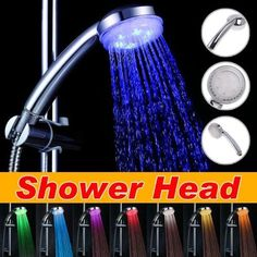 7 COLOR LED SHOWER HEAD ROMANTIC LIGHTS WATER HOME BATH - Xmas day by IDS, http://www.amazon.com/dp/B005AEZ93Y/ref=cm_sw_r_pi_dp_YzEsrb1M7HH15