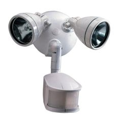Cooper Lighting MS248W 240 Degree 200W Light type: Halogen Motion Security Floodlight, White by Cooper Lighting. $42.99. From the Manufacturer                240 Degree 200W Halogen Motion Security Floodlight.                                    Product Description                Easy install on walls or eaves with center mount, 1-screw design for easy installation. Instructions provided.