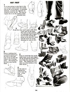 Character and Creature Design Notes: Foot (and Shoe) Reference Part 2