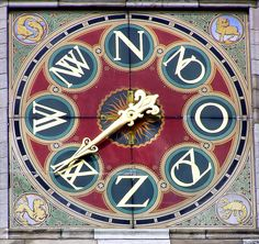 'Wind Rose' at Amsterdam Central Station.
