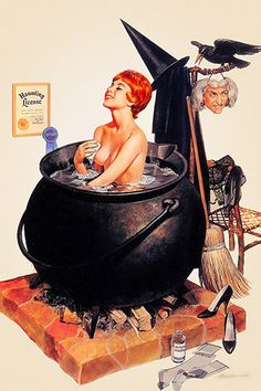Ren Wicks' Bathing Witch 1964