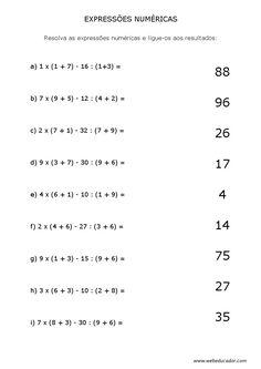 expressões numéricas                                                       …