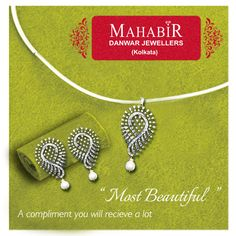 """""""Most Beautiful """" A compliment you will recieve a lot at #MahabirDanwarJewellers"""