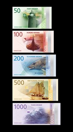 This past spring, the central bank of Norway, Norges Bank, ran a competition to design an entirely new banknote series. With a challenge to communicate the