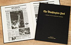 Relive the Redskins' most memorable moments with this Washington Post newspaper book, featuring reprints of reports written at the time.  Following the Redskins' relocation from Boston to Washington in 1937, things begin with the team's 13-3 win over the Giants in front of nearly 25,000 fans.