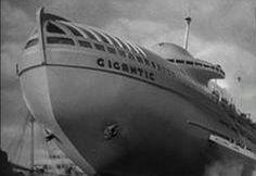 SS Gigantic, futurustic pcean liner.
