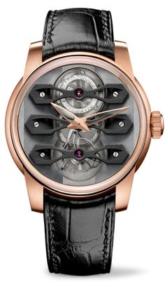 wonderful kind of a Tourbillon watch - Girard-Perregaux Neo. Dream Watches, Fine Watches, Cool Watches, Men's Watches, Stylish Watches, Luxury Watches For Men, Tourbillon Watch, Girard Perregaux, Hand Watch