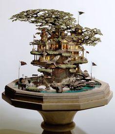 Amazing Model Building - a whole tiny world