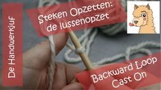 In this video, with English subtitles I show you the most simple way to cast on stitches for knitting: The backward loop cast on. Super simple, but you'd better use this for casting on extra stitches at the end of a row when you have to increase, or for buttonholes. I do have video's for better ways to cast on YouTube as well, so watch my channel (http://www.youtube.com/c/DeHandwerkjuf)! Or look on www.dehandwerkjuf.nl (English available).