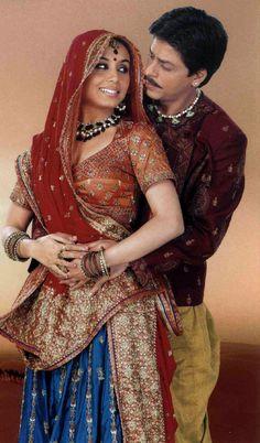 Shahrukh Khan and Rani Mukherjee in Paheli. Bollywood Stars, Bollywood Couples, Bollywood Cinema, Bollywood Celebrities, Bollywood Fashion, Bollywood Costume, Bollywood Party, Mumbai, Rani Mukerji