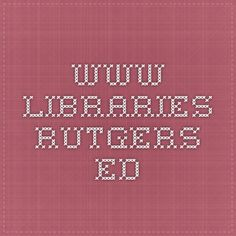 www.libraries.rutgers.ed This post is made by Isaiah Beard, it talks about the definition and challenges of digital curation it is useful beacuse it helps you understand and apply it in whatever you want to do. It is reliable because it is mde by a university libary.