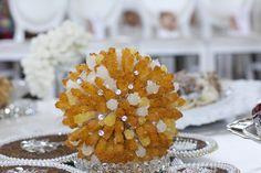 Persian(iranian) Aghd(wedding) sofre  Shakheh nabatt( crystallized candy stick)