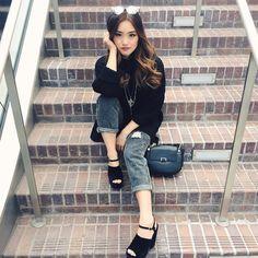 "Jenn Im on Instagram: ""Stair down. """
