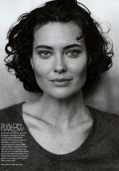 Shalom Harlow: Harper's Bazaar, 2009