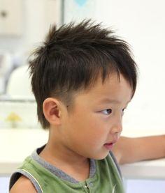 イケメンヘア!ヘアスタイルの参考に。子供の髪型のカットやアレンジのアイデア。