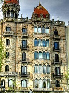 Passeig de Gracia - Barcelona, Spain