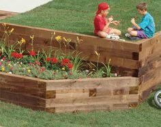 wood retaining wall ideas