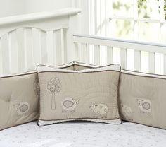 Sweet Lambie Nursery Organic Bedding For Babies