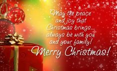 May the True Magic of Christmas be in His Presence and not just the presents...