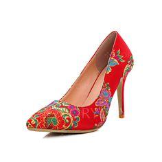 Zapatos - $54.77 - Zapatos Salón Cerrados Tacón stilettos Ante (1625121129)